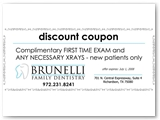 Brunelli Dentistry New Patient Coupon