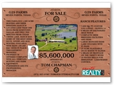 G29 Farms Real Estate Sales Ad