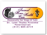 Animal Home Health Care Business Card