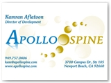 Apollo Spine Business Card