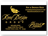 Reed Design Group Business Card