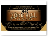 Rockhill Ranch Business Card