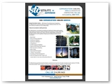 STC Utility Services Mailable Double Sided Tri-Fold Brochure