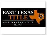 East Texas Title 4 X 10 foot Building Sign