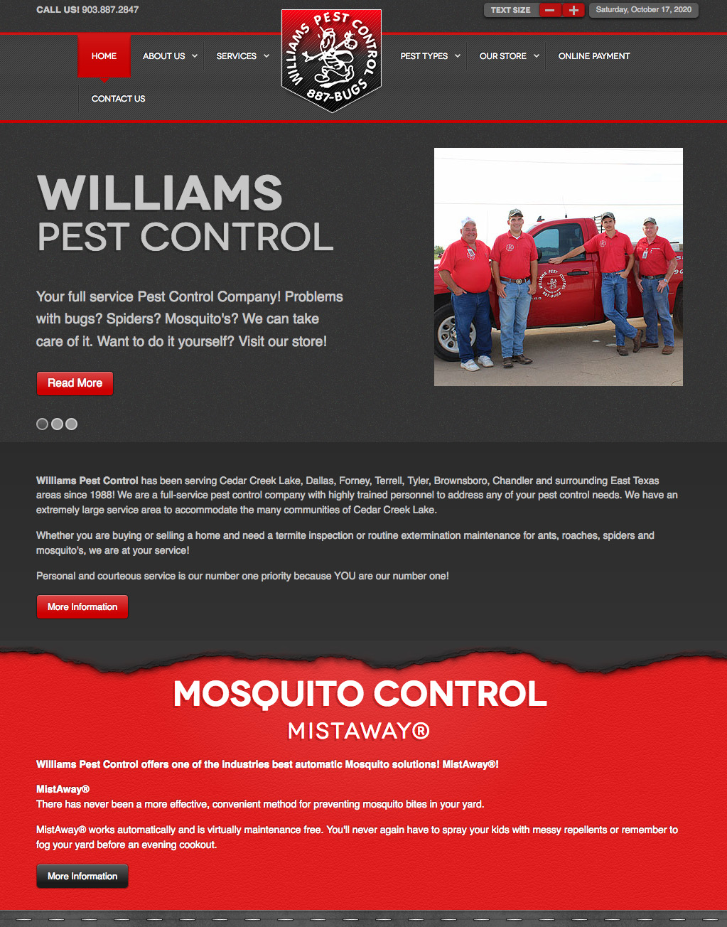 Williams Pest Control